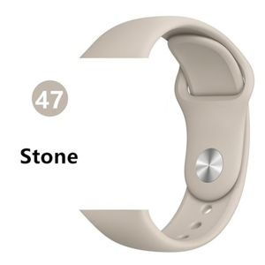NEW[BAND] STONE Sport Silicone For Apple Watch